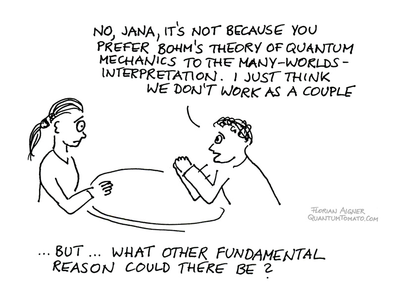 quantum philosophical breakup