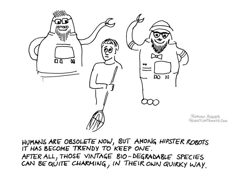 hipster robots
